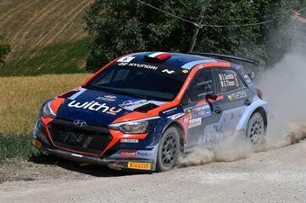 Umberto Scandola, Guido D'Amore, Hyundai I20 NG R5 #6, Movisport, CAMPIONATO ITALIANO RALLY TERRA