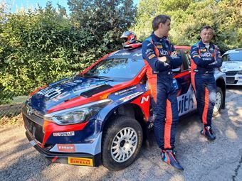 Umberto Scandola – Guido D'Amore (Hyundai I20 NG R5 #6), CAMPIONATO ITALIANO RALLY TERRA