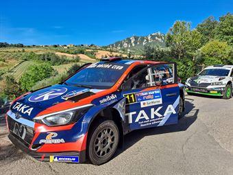 Giacomo Costenaro, Justin Bardini, Hyundai I20 R5 NG #11, Hawk Racing Club SRL, CAMPIONATO ITALIANO RALLY TERRA
