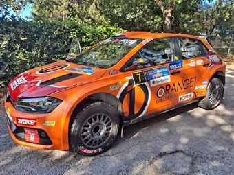 Simone Campedelli, Gianfrancesco Rappa, Volkswagen Polo R5 #7, Step Five), CAMPIONATO ITALIANO RALLY TERRA