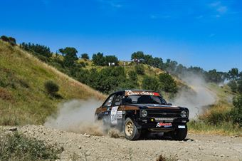 Giuliano Calzolari, Giancarlo Rossini, Ford Escort #204, San Marino, CAMPIONATO ITALIANO RALLY TERRA STORICO
