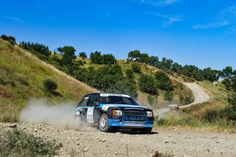 Corrado Costa, Domenico Munaroni, Opel Corsa GSI #213, San Marino, 6° Historic San Marino Rally, CAMPIONATO ITALIANO RALLY TERRA STORICO