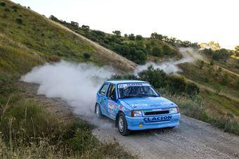 Roberto Galluzzi, Andrea Montagnani, Opel Corsa GSI #212, Jolly Racing Team, CAMPIONATO ITALIANO RALLY TERRA STORICO