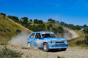Roberto Galluzzi, Andrea Montagnani, Opel Corsa GSI #212, Jolly Racing Team, 6° Historic San Marino Rally, CAMPIONATO ITALIANO RALLY TERRA STORICO