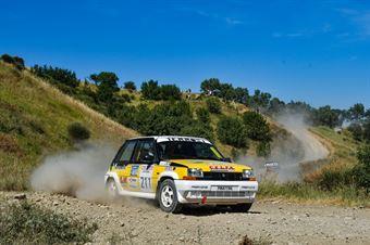 Massimo Meniconi, Nico Domini, Renault 5 Gt Turbo #211, Proracing, CAMPIONATO ITALIANO RALLY TERRA STORICO