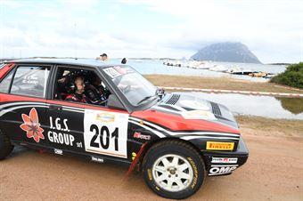 Lucky, Fabrizia Pons, Lancia Delta Integrale 16V #201, CAMPIONATO ITALIANO RALLY TERRA STORICO