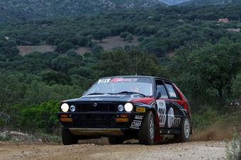 Lucky Fabrizia Pons, Lancia Delta Integrale 16V #201, CAMPIONATO ITALIANO RALLY TERRA STORICO