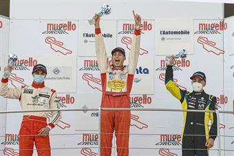 Podium Rookie Race 2, CAMPIONATO ITALIANO SPORT PROTOTIPI