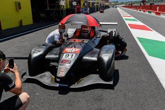 Roccadelli Matteo, Wolf GB08 Thunder #91, G Force Racing, CAMPIONATO ITALIANO SPORT PROTOTIPI