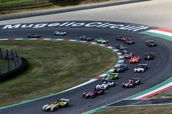 Start race 1, CAMPIONATO ITALIANO SPORT PROTOTIPI