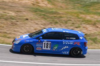 Antonio Cardone ( Honda Civic Type R #181), CAMPIONATO ITALIANO VELOCITÀ MONTAGNA