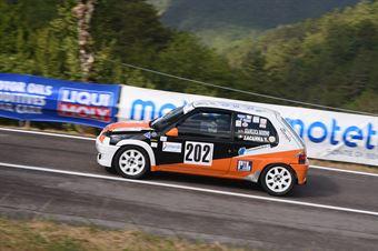 Gianluca Rodino ( New generation Racing , Peugeot 106 #202), CAMPIONATO ITALIANO VELOCITÀ MONTAGNA