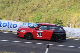 Angelo Loconte ( Epta Motorsport, Peugeot 308 GT #218), CAMPIONATO ITALIANO VELOCITÀ MONTAGNA