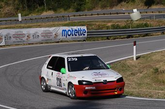 Romolo Nespeca ( One Management , Peugeot 106 #239), CAMPIONATO ITALIANO VELOCITÀ MONTAGNA