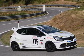 Lukas Bicciato (Mendola, Renault Clio RS #175), CAMPIONATO ITALIANO VELOCITÀ MONTAGNA