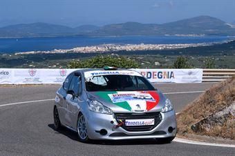 Claudio Spanu ( Top Drivers Team , Peugeot 208 #57), CAMPIONATO ITALIANO VELOCITÀ MONTAGNA