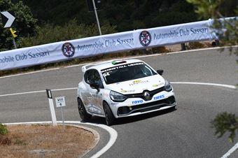 Lukas Bicciato (Mendola, Renault Clio RS #94), CAMPIONATO ITALIANO VELOCITÀ MONTAGNA