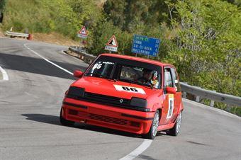 Messina Vito ( Giarre Corse, Renault 5GTT #86), CAMPIONATO ITALIANO VELOCITÀ MONTAGNA
