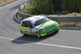 Sciortino Gianluca ( Caltanissetta Corse, Renault Clio #123), CAMPIONATO ITALIANO VELOCITÀ MONTAGNA