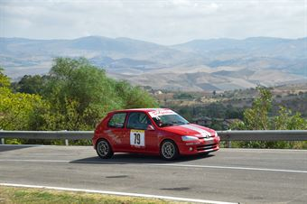 Antonino D'Agostino ( Giarre Corse, Peugeot 106 #79), CAMPIONATO ITALIANO VELOCITÀ MONTAGNA