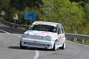 Pietro Ragusa ( Catania Corse , Renault 5 GTT #47), CAMPIONATO ITALIANO VELOCITÀ MONTAGNA
