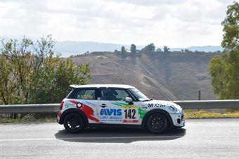 Agostino Scaffidi ( CST Sport Mini Cooper SD JWC #141, CAMPIONATO ITALIANO VELOCITÀ MONTAGNA
