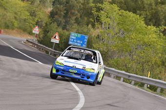 Angelo Maria Guzzetta ( New Generation Racing, Peugeot 106 #57), CAMPIONATO ITALIANO VELOCITÀ MONTAGNA