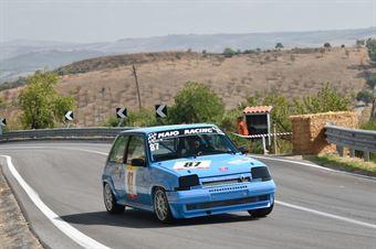 Carmelo Maio ( Giarre Corse, Renault 5 GTT #87), CAMPIONATO ITALIANO VELOCITÀ MONTAGNA