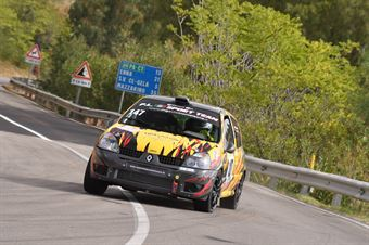 Monteleone Filippo Corrado ( Catania Corse, Renault Clio #147), CAMPIONATO ITALIANO VELOCITÀ MONTAGNA