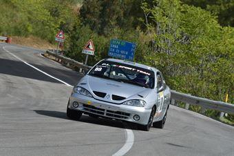 Gruttadauria Emanuele ( Caltanissetta Corse, Renault Megane #88), CAMPIONATO ITALIANO VELOCITÀ MONTAGNA