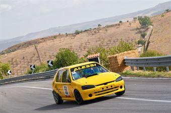 Alessi Rosario ( Catania Corse , Peugeot 106 #58), CAMPIONATO ITALIANO VELOCITÀ MONTAGNA