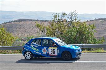 Sandro Belmonte ( Cosenza Corse, Peugeot 106 #96), CAMPIONATO ITALIANO VELOCITÀ MONTAGNA