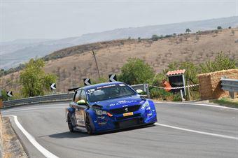 Giovanni Loffredo ( Scuderia Vesuvio , Peugeot 308 #136), CAMPIONATO ITALIANO VELOCITÀ MONTAGNA