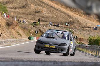 Antonio Fichera( Peugeot 106 #59), CAMPIONATO ITALIANO VELOCITÀ MONTAGNA