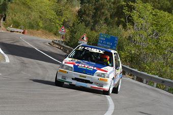 Gibella Danilo ( Motor Team Nisseno , Peugeot 106 #97), CAMPIONATO ITALIANO VELOCITÀ MONTAGNA