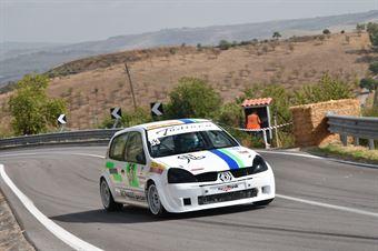 Alfio Tudisco ( Catania Corse, Renault Clio Rs #53), CAMPIONATO ITALIANO VELOCITÀ MONTAGNA