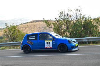 Davide Ignaccolo ( Catania Corse, Renault Clio #55), CAMPIONATO ITALIANO VELOCITÀ MONTAGNA