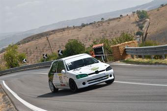 Orlando Eugenio Francesco ( Peugeot 106 #152), CAMPIONATO ITALIANO VELOCITÀ MONTAGNA