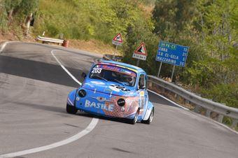 Basile Saverio Carmelo ( Fiat 500, Catania Corse #203), CAMPIONATO ITALIANO VELOCITÀ MONTAGNA