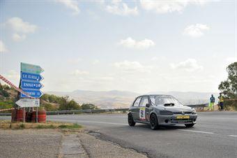 Alfio Crispi ( Catania Corse , Peugeot 106 #59), CAMPIONATO ITALIANO VELOCITÀ MONTAGNA