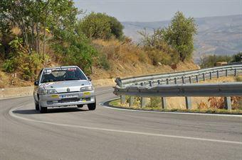 Santoro Ignazio Daniel ( Motor Team Nisseno , Peugeot 106 #135), CAMPIONATO ITALIANO VELOCITÀ MONTAGNA