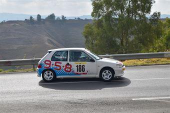 Daniele Giuseppe Trovato (Ro racing, Peugeot 106 #186), CAMPIONATO ITALIANO VELOCITÀ MONTAGNA