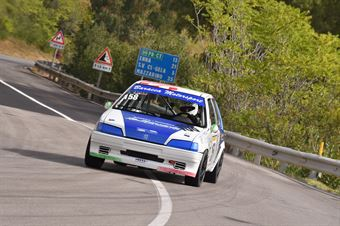 Russo Riccardo ( Giarre Corse, Peugeot 106 #158), CAMPIONATO ITALIANO VELOCITÀ MONTAGNA