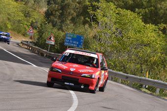 Raciti Mario ( CAtania corse, Peugeot 106 #133), CAMPIONATO ITALIANO VELOCITÀ MONTAGNA