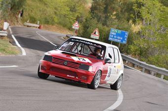 Cariola Alfio ( Giarre Corse, Peugeot 205 #73), CAMPIONATO ITALIANO VELOCITÀ MONTAGNA
