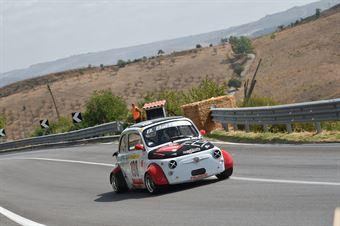 Biagio Battaglia ( G.P.K. Racing , Fiat 500 #198), CAMPIONATO ITALIANO VELOCITÀ MONTAGNA