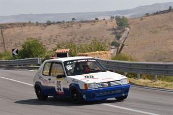 Roberto Lombardo ( Caltanissetta Corse, Peugeot 205 #95), CAMPIONATO ITALIANO VELOCITÀ MONTAGNA