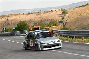 Manuel D'Antoni ( New Turbomark Rally Team, Fiat Cinquecento Maxi Evo #34), CAMPIONATO ITALIANO VELOCITÀ MONTAGNA