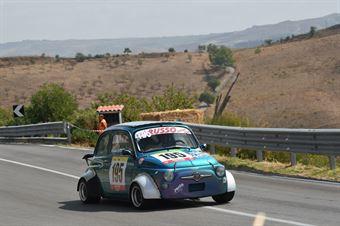 Orazio Laudani ( Cubeda Corse, Fiat 500 #195), CAMPIONATO ITALIANO VELOCITÀ MONTAGNA