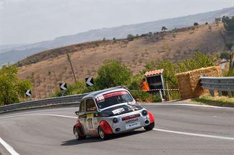 Angelo Mercuri ( New Generation Racing , Fiat 500 #188), CAMPIONATO ITALIANO VELOCITÀ MONTAGNA